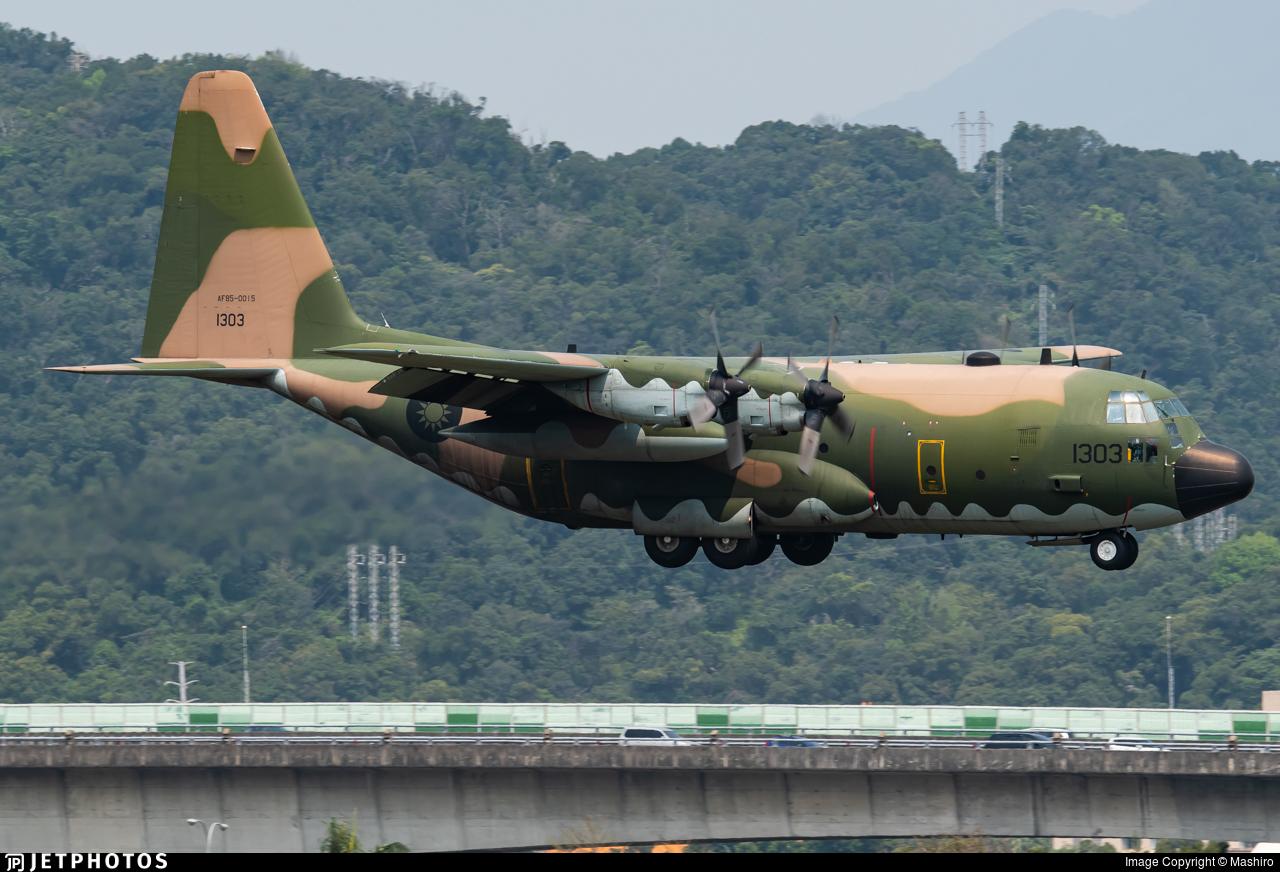 1303 - Lockheed C-130H Hercules - Taiwan - Air Force