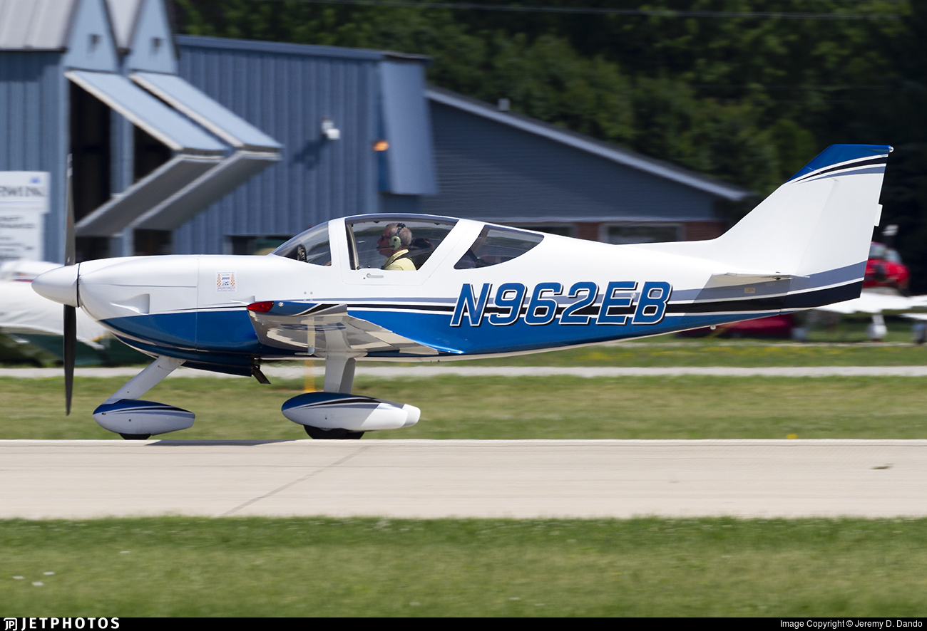 N962EB - Glasair Aviation SII-S FT - Private