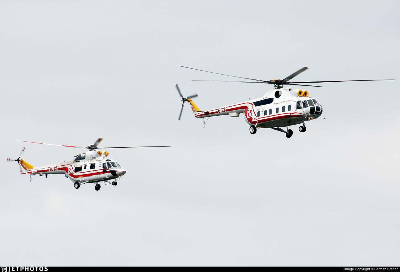 633 - Mil Mi-8P Hip - Poland - Air Force