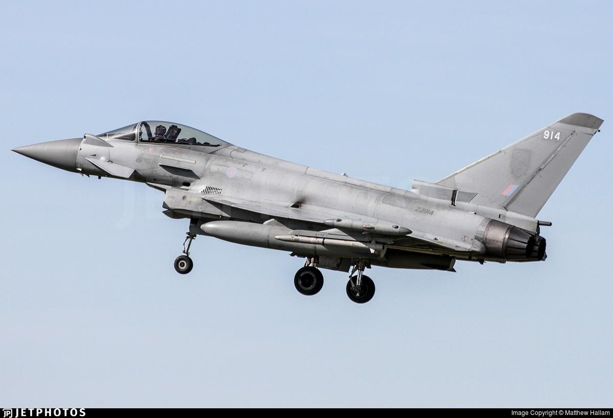 ZJ914 - Eurofighter Typhoon FGR.4 - United Kingdom - Royal Air Force (RAF)