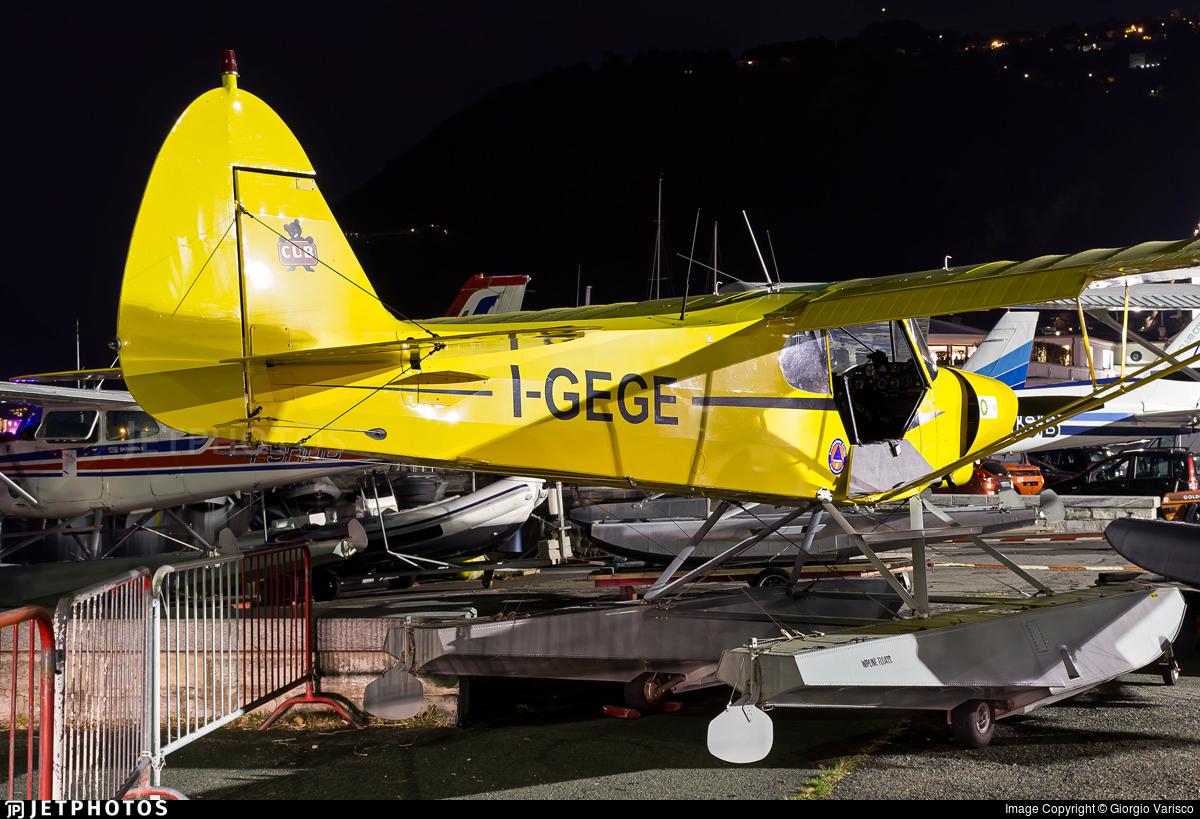 I-GEGE - Piper PA-18-150 Super Cub - Aero Club - Como