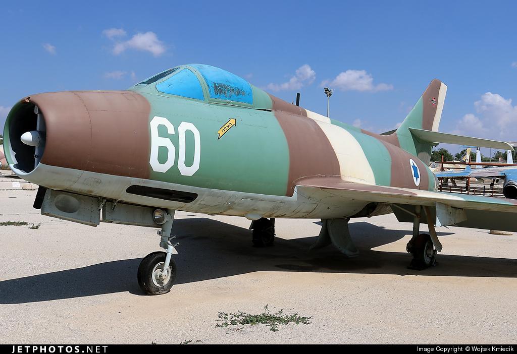 60 - Dassault MD.452 Mystère IVA - Israel - Air Force