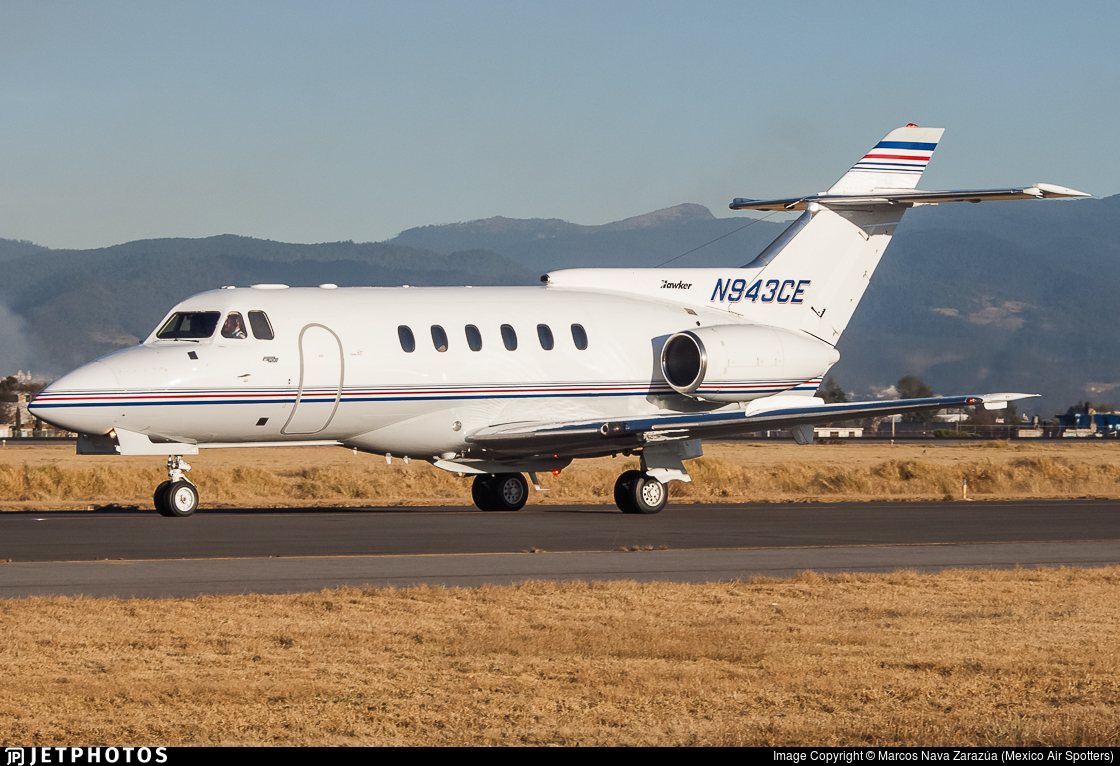 N943CE - Hawker Siddeley HS-125-700A - Private
