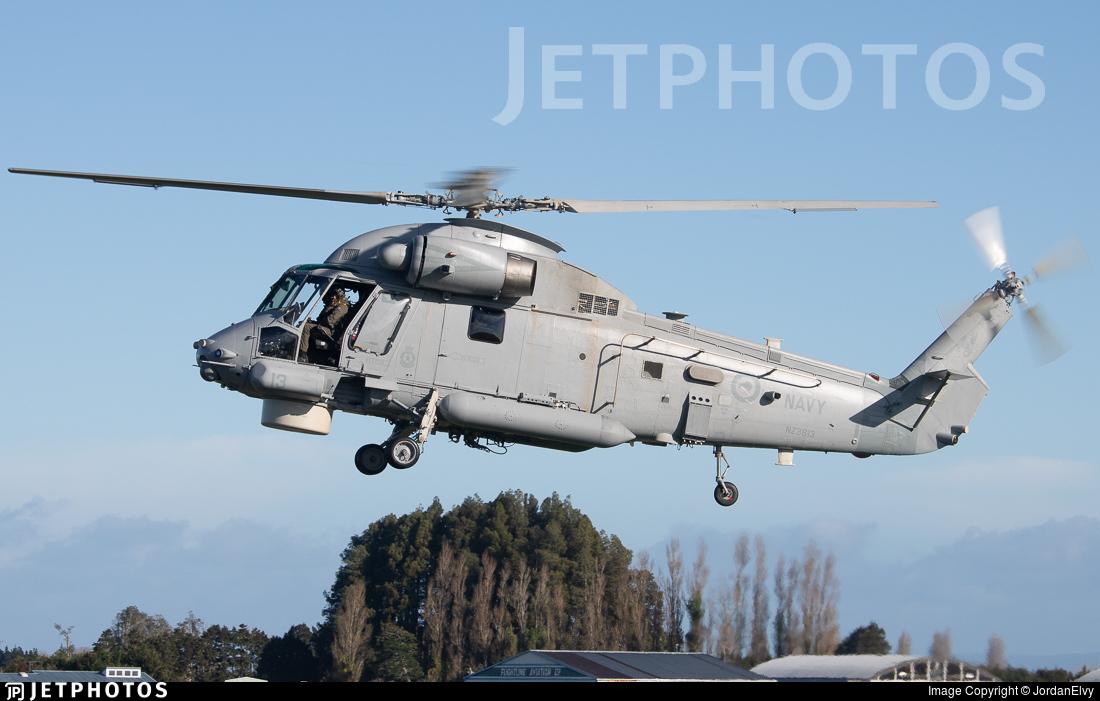 NZ3613 - Kaman SH-2G Super Seasprite - New Zealand - Navy