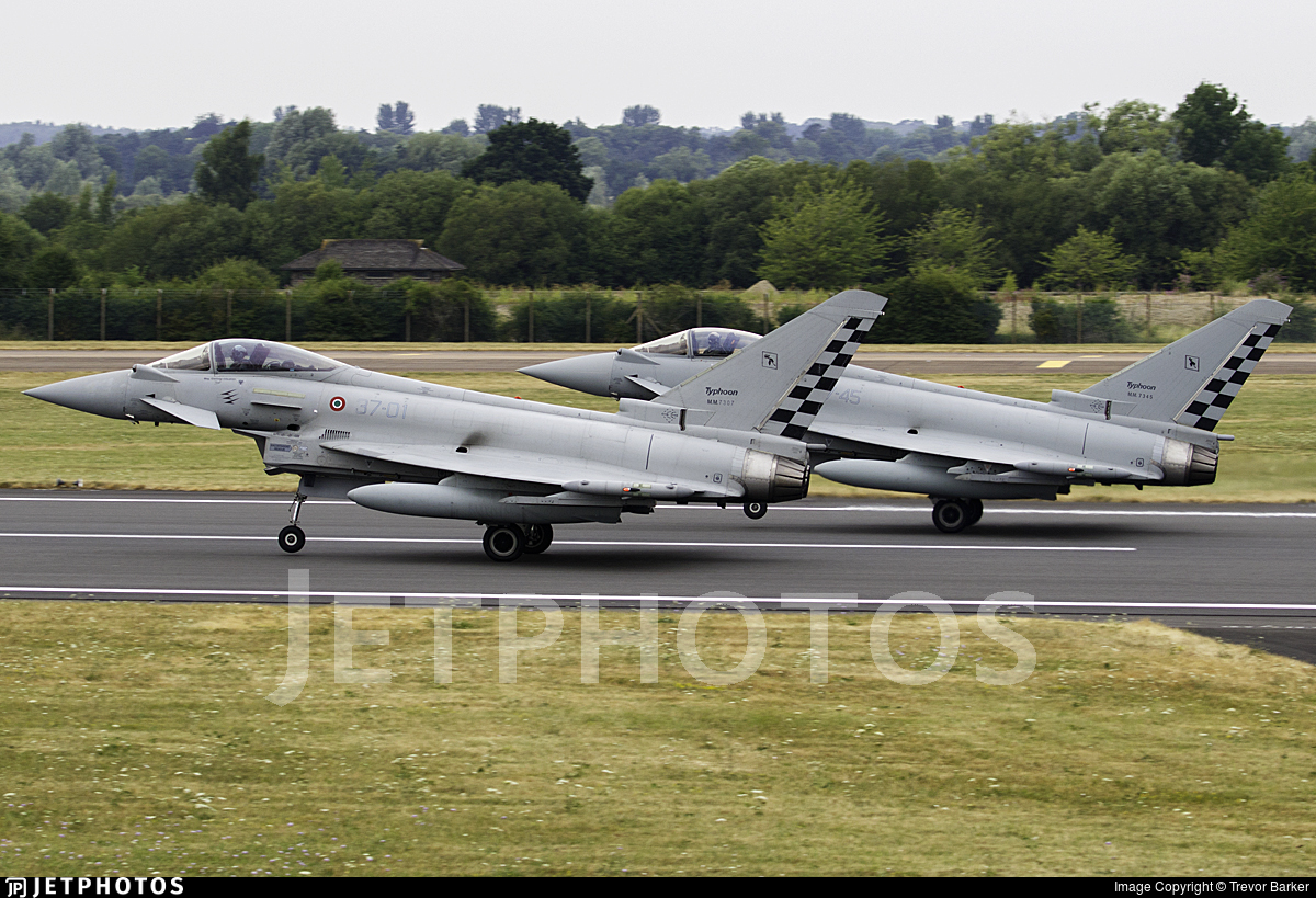 MM7307 - Eurofighter Typhoon EF2000 - Italy - Air Force