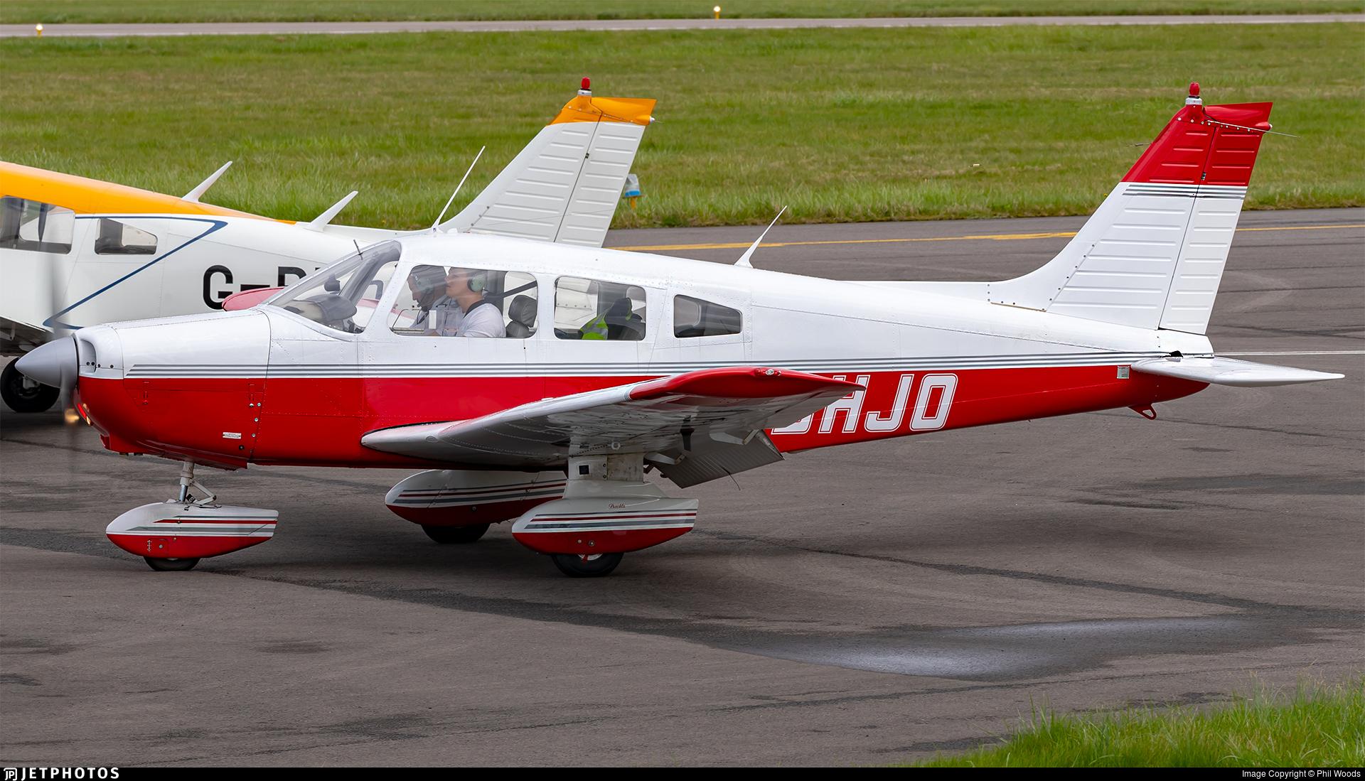 G-BHJO - Piper PA-28-161 Cherokee Warrior II - Private