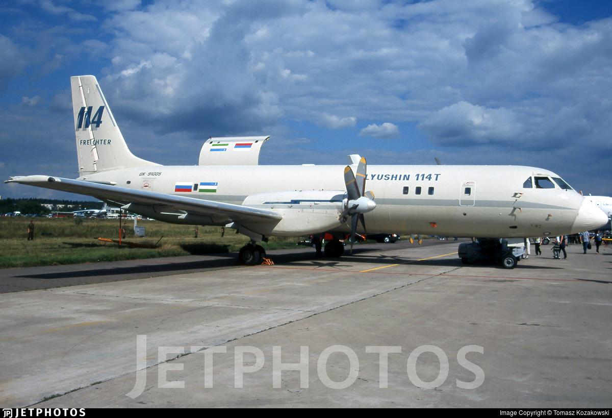 UK-91005 - Ilyushin IL-114 - Ilyushin