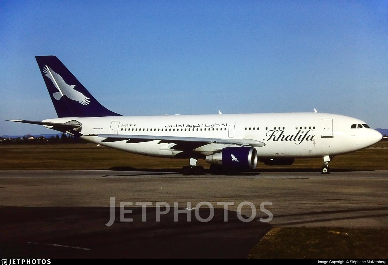 F-OGYM - Airbus A310-324 - Khalifa Airways