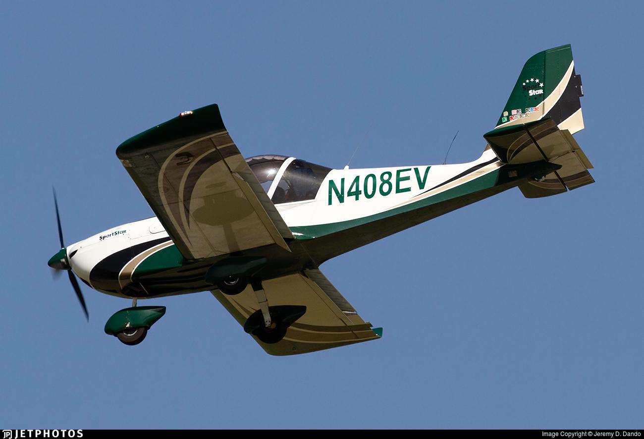 N408EV - Evektor-Aerotechnik SportStar - Private