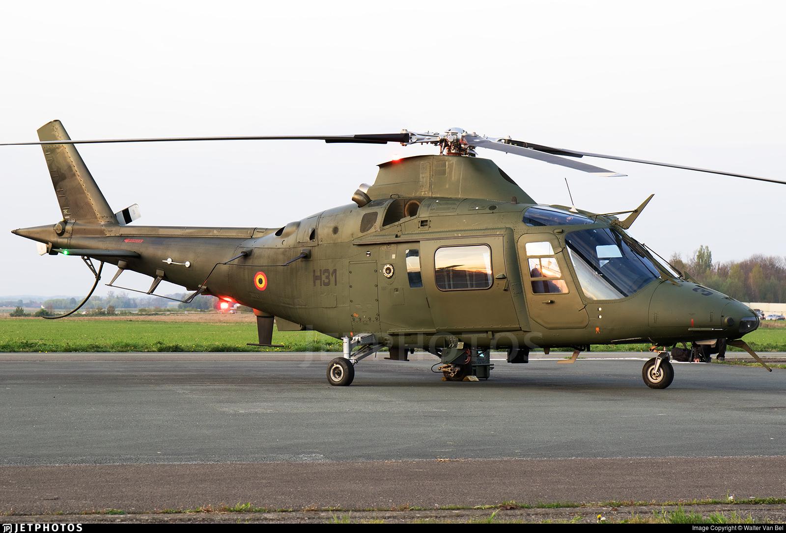 H31 - Agusta A109BA - Belgium - Air Force