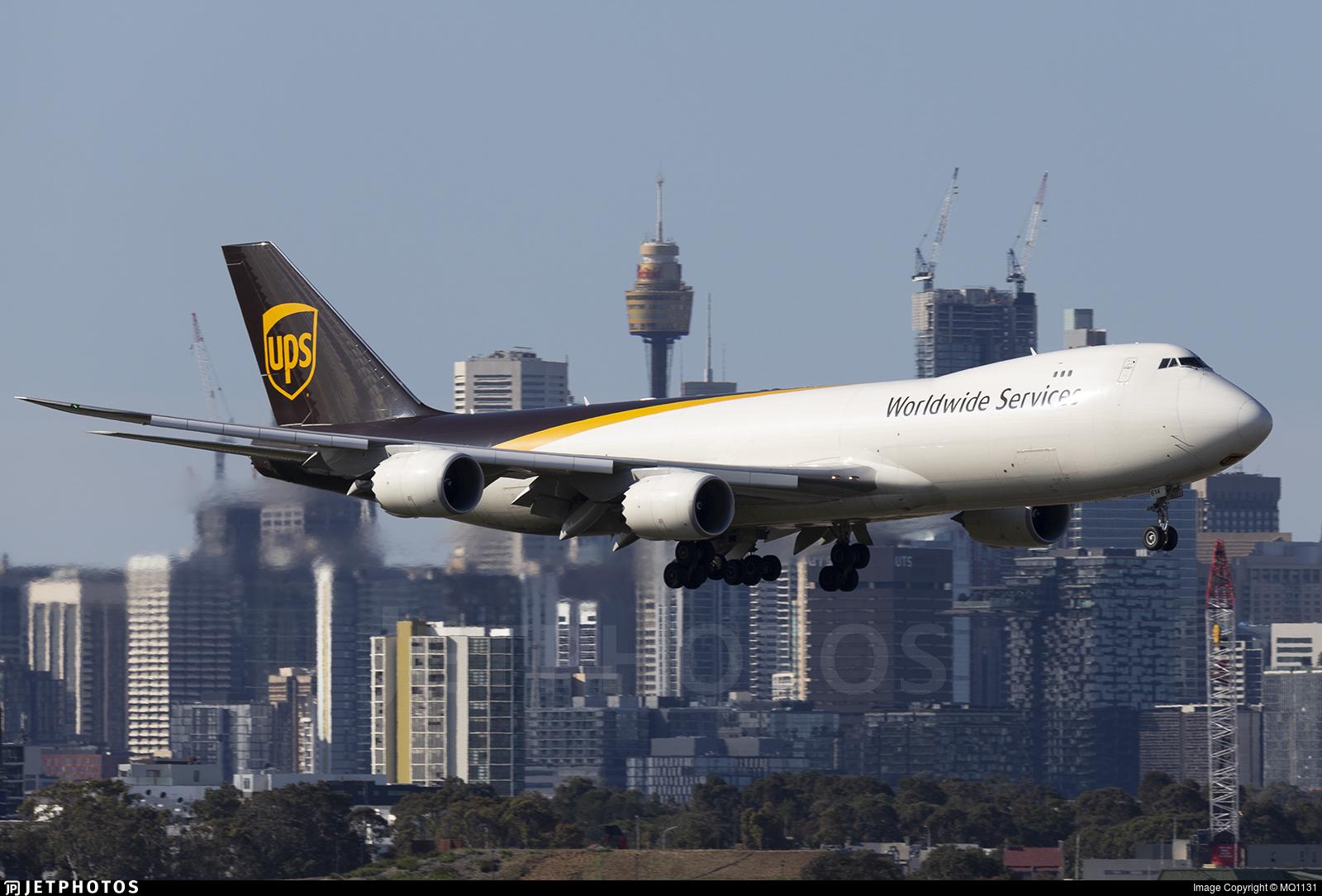 N614UP - Boeing 747-84AF - United Parcel Service (UPS)