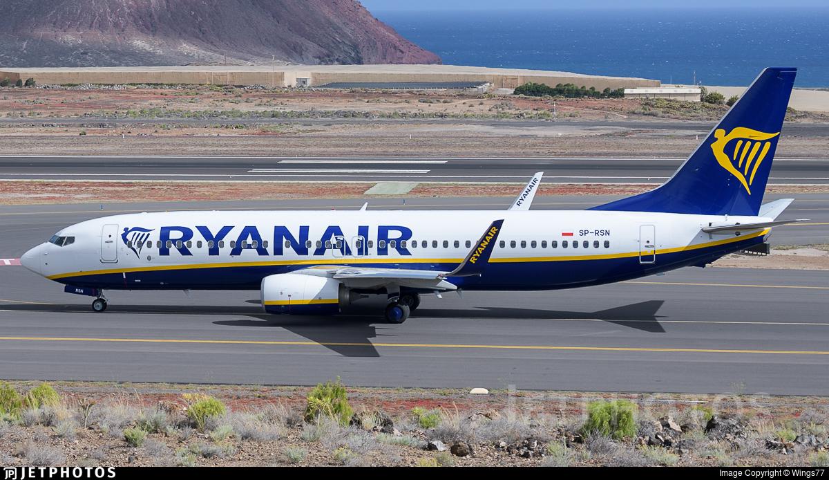 SP-RSN - Boeing 737-8AS - Ryanair Sun