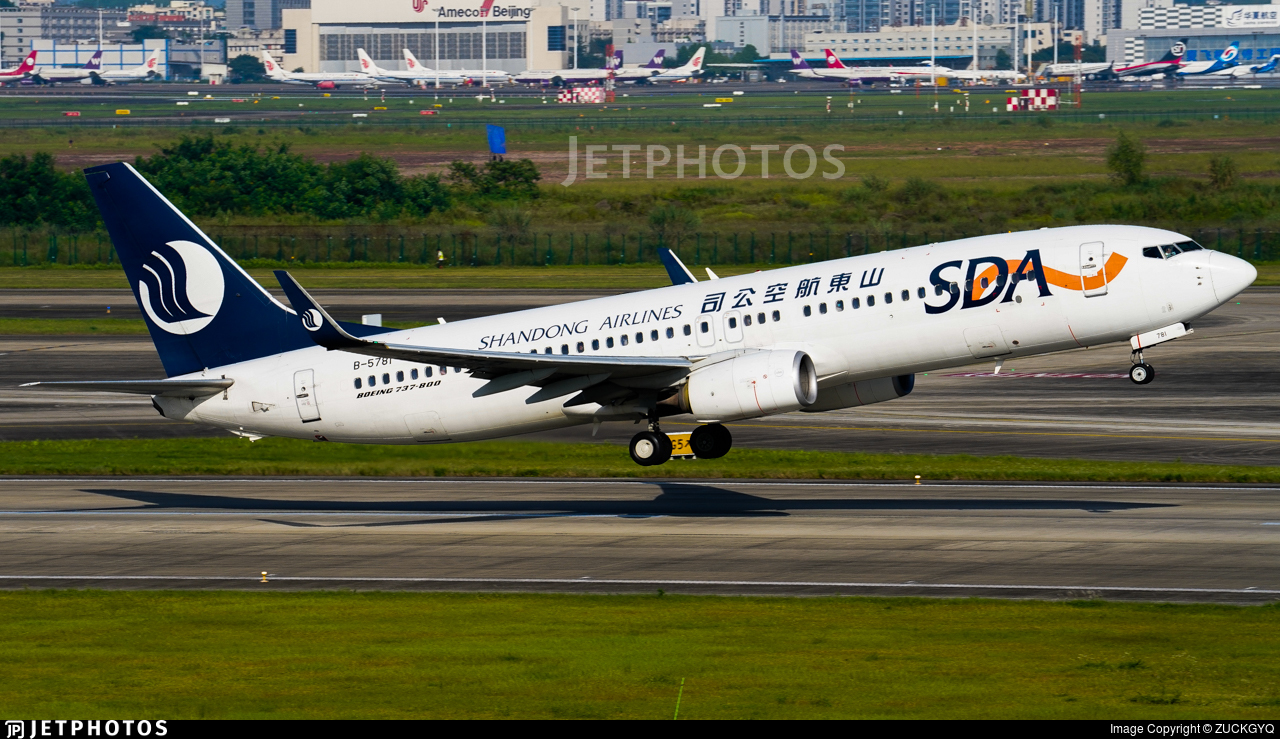 B-5781 - Boeing 737-85P - Shandong Airlines
