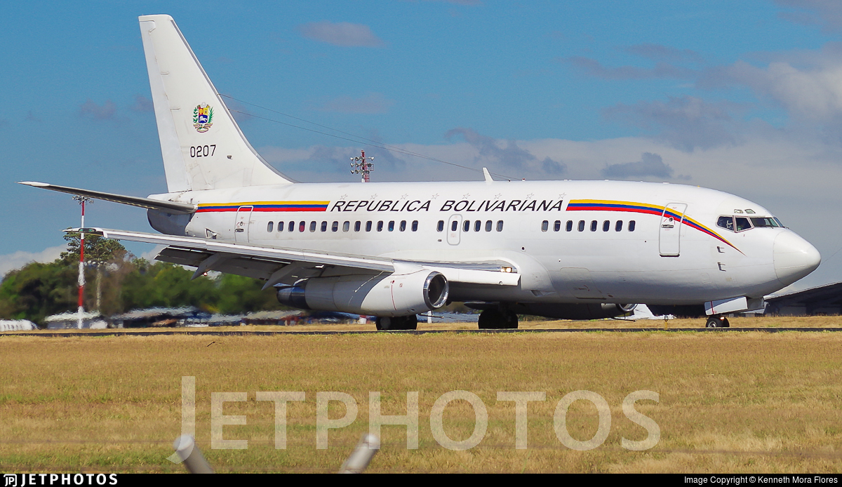 0207 - Boeing 737-2N1(Adv) - Venezuela - Air Force