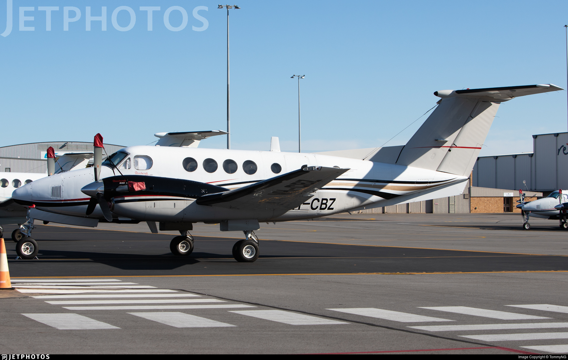 VH-CBZ - Beechcraft 200C Super King Air - Private