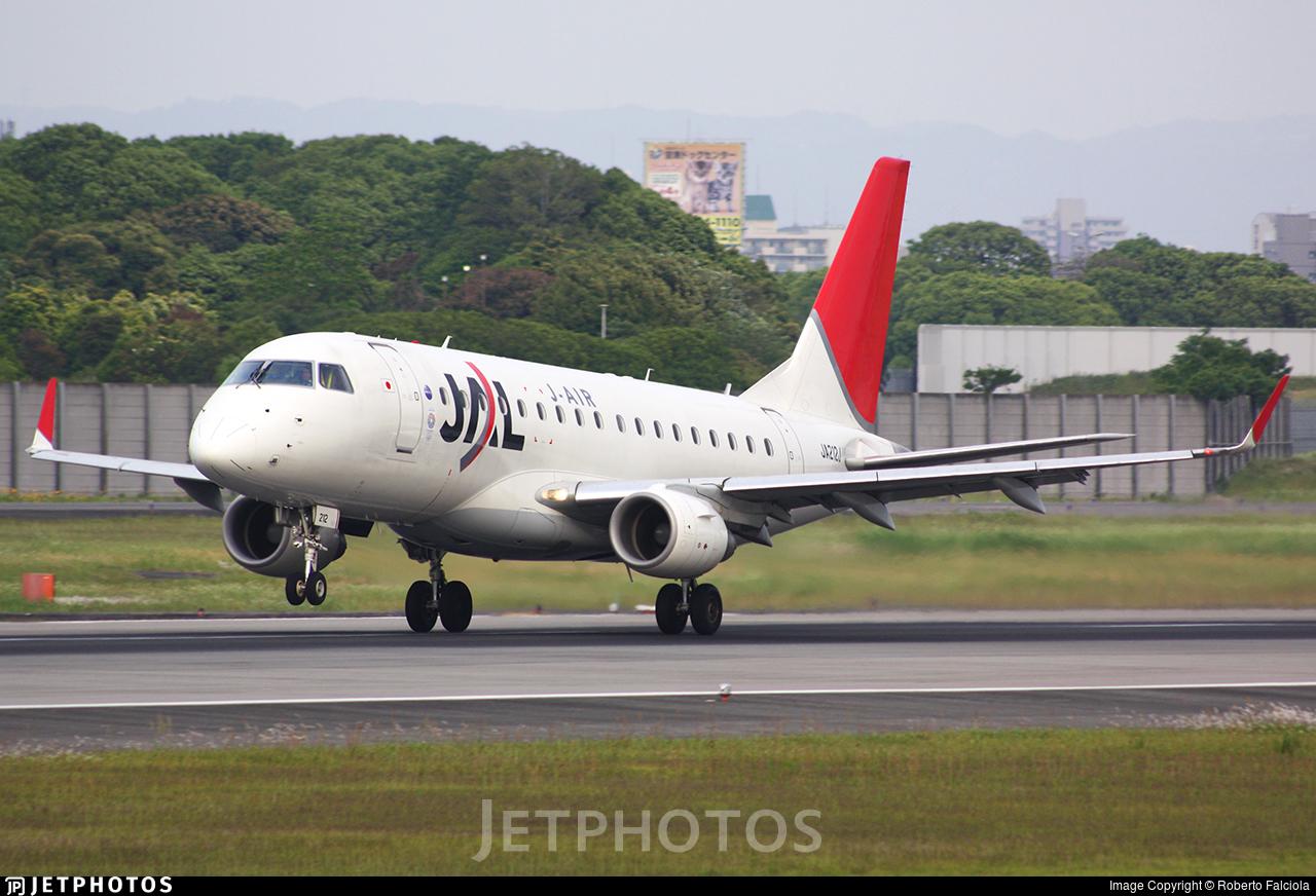 JA212J - Embraer 170-100STD - J-Air
