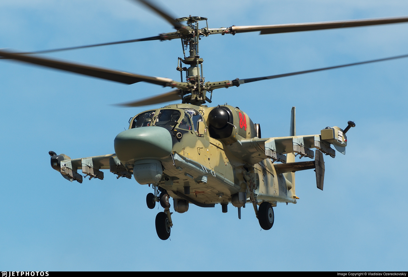 RF-13423 - Kamov Ka-52 Alligator - Russia - Air Force