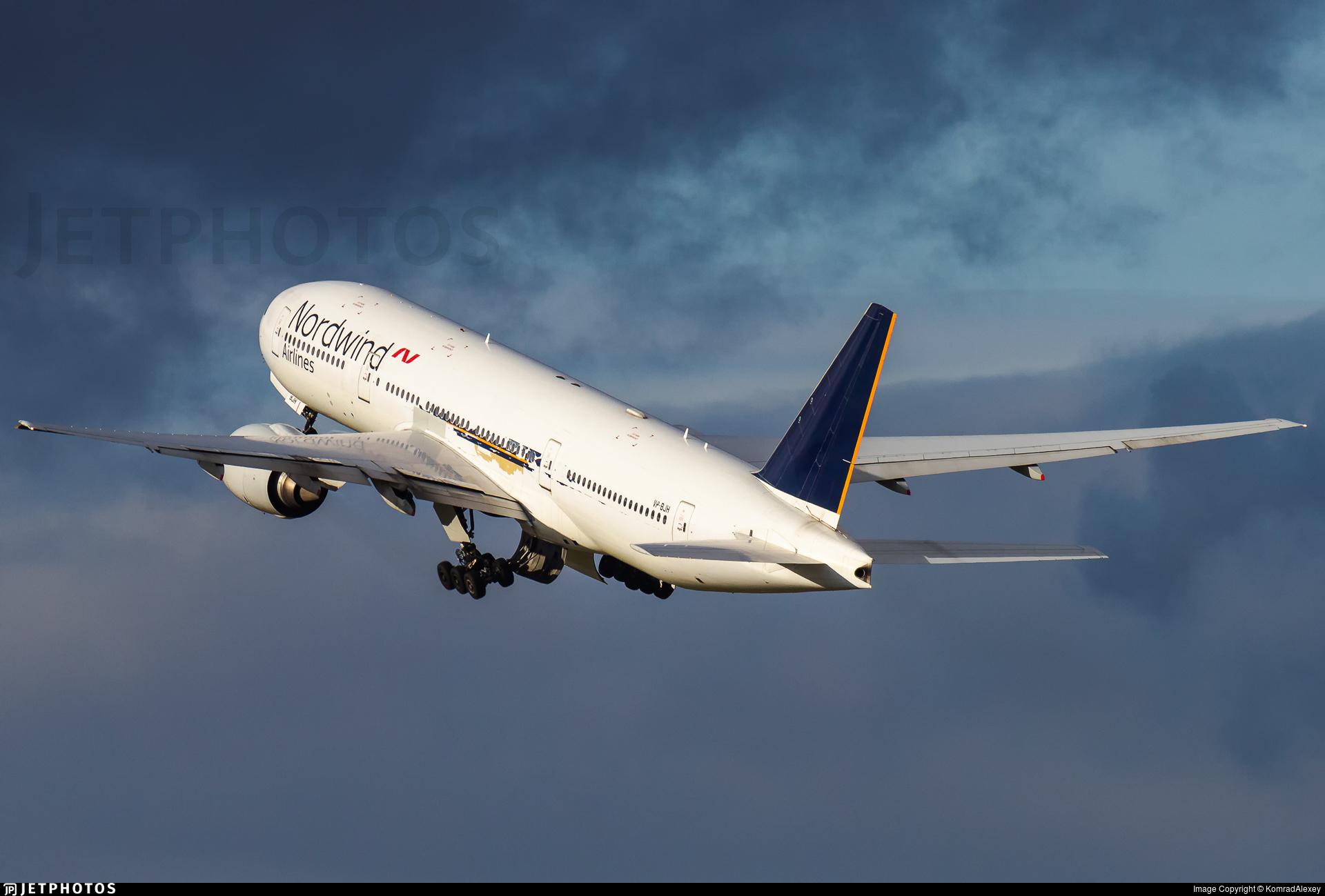 VP-BJH - Boeing 777-212(ER) - Nordwind Airlines