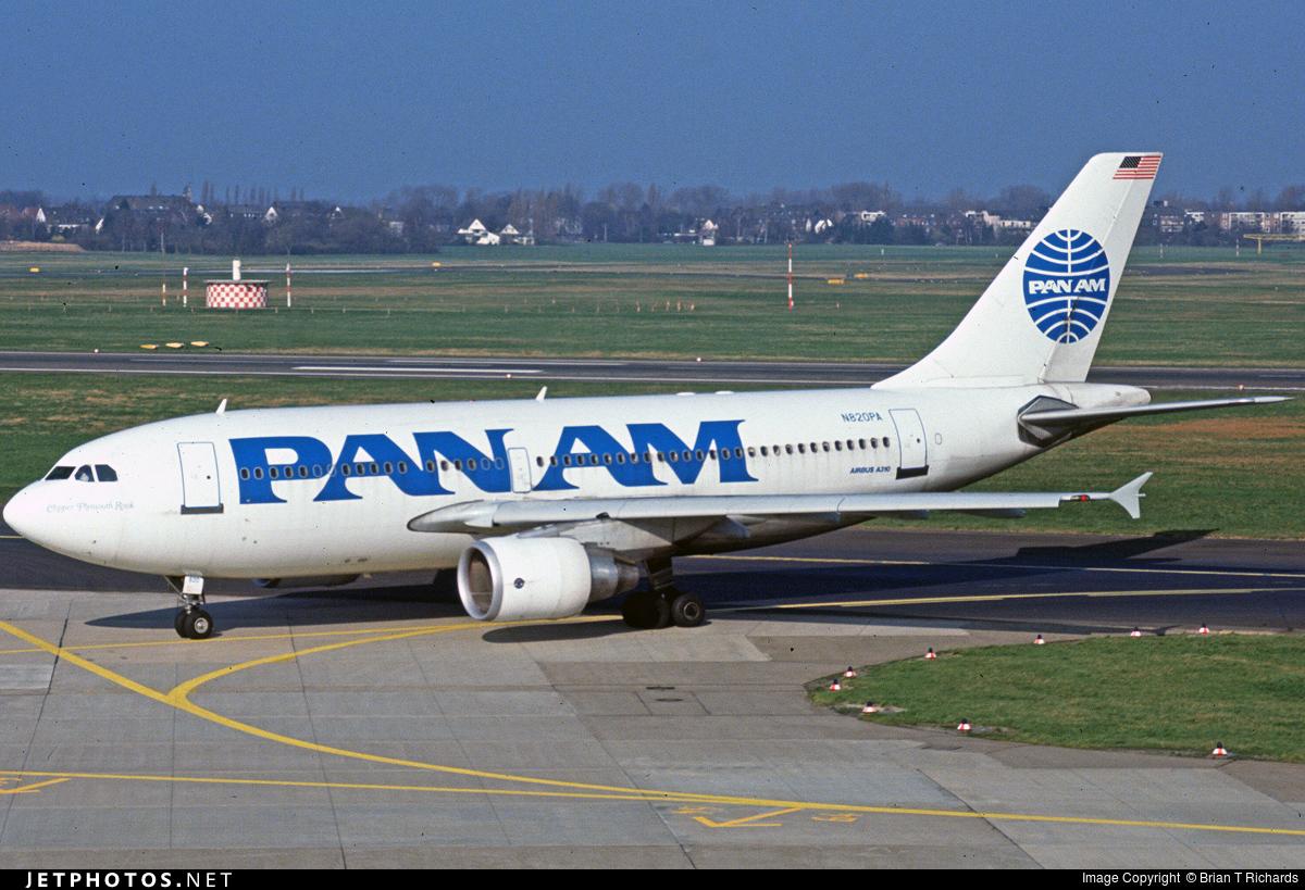 N820PA - Airbus A310-324(ET) - Pan Am