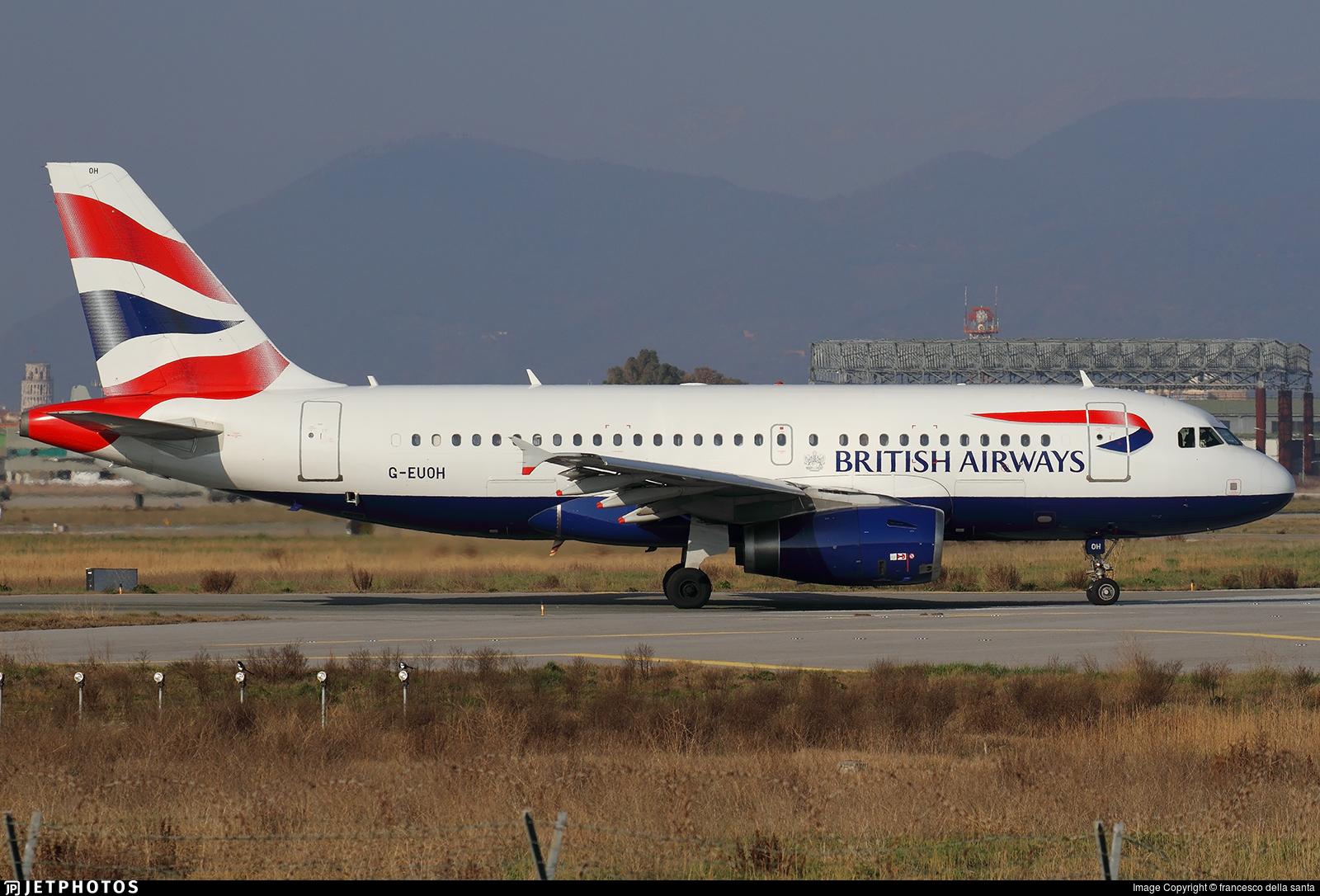 G-EUOH - Airbus A319-131 - British Airways