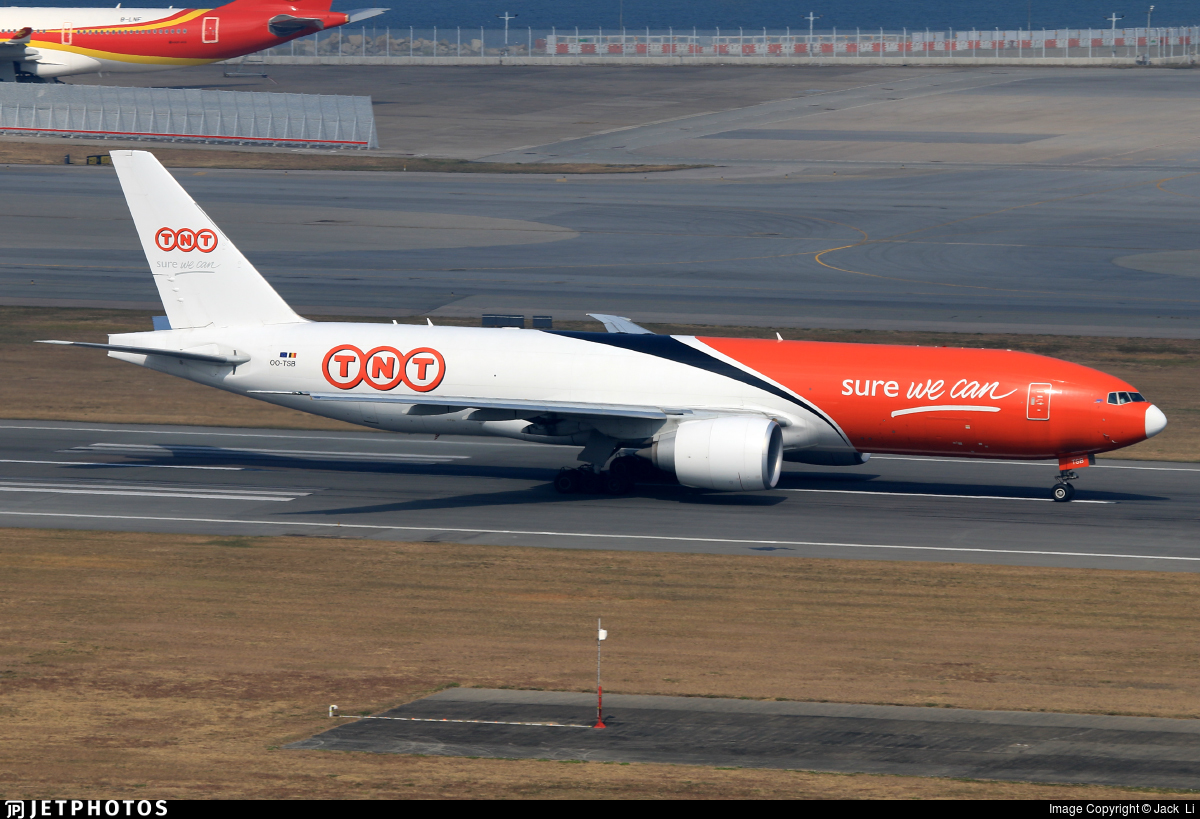 OO-TSB - Boeing 777-FHT - TNT (ASL Airlines)