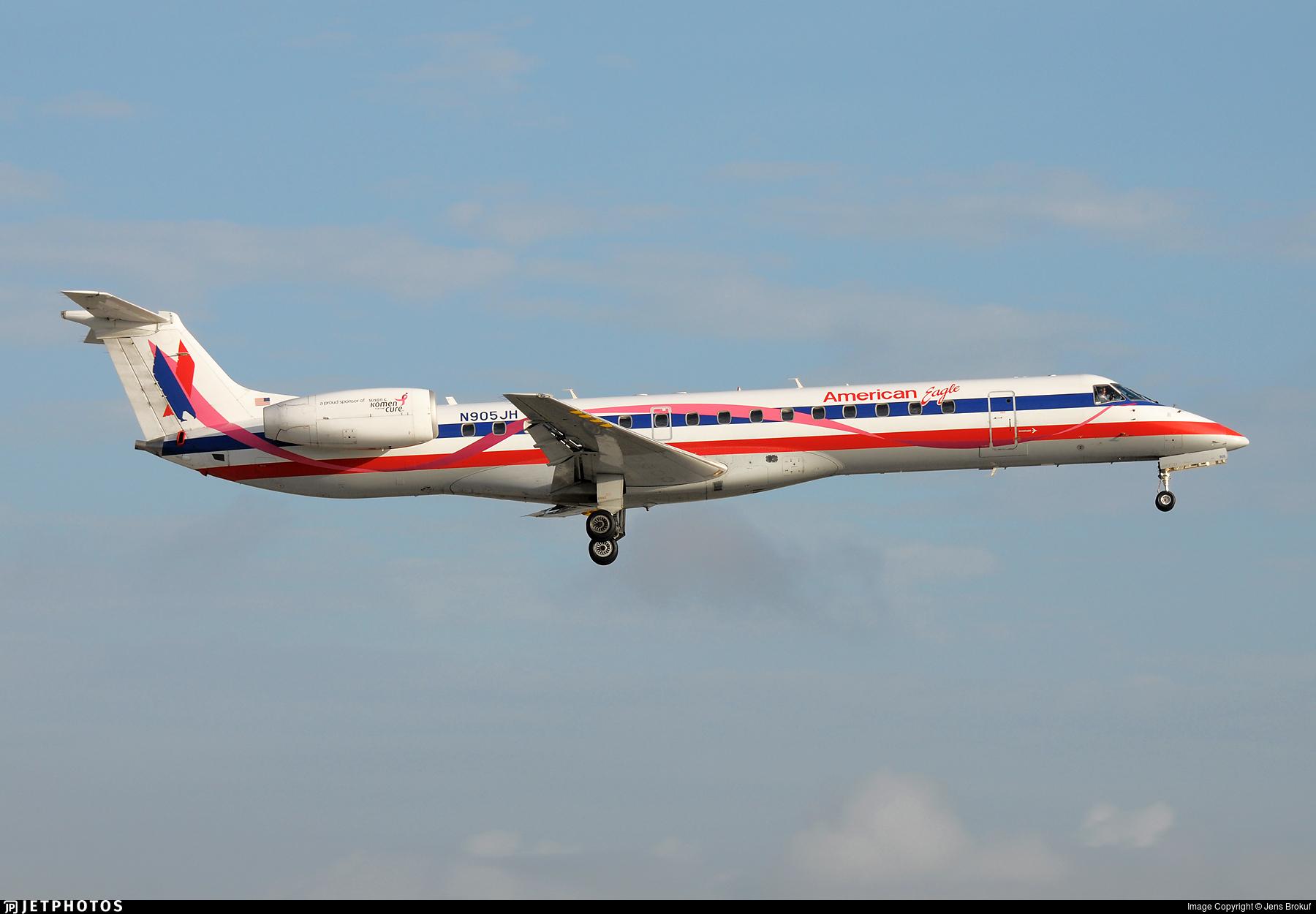 N905JH - Embraer ERJ-145LR - American Eagle