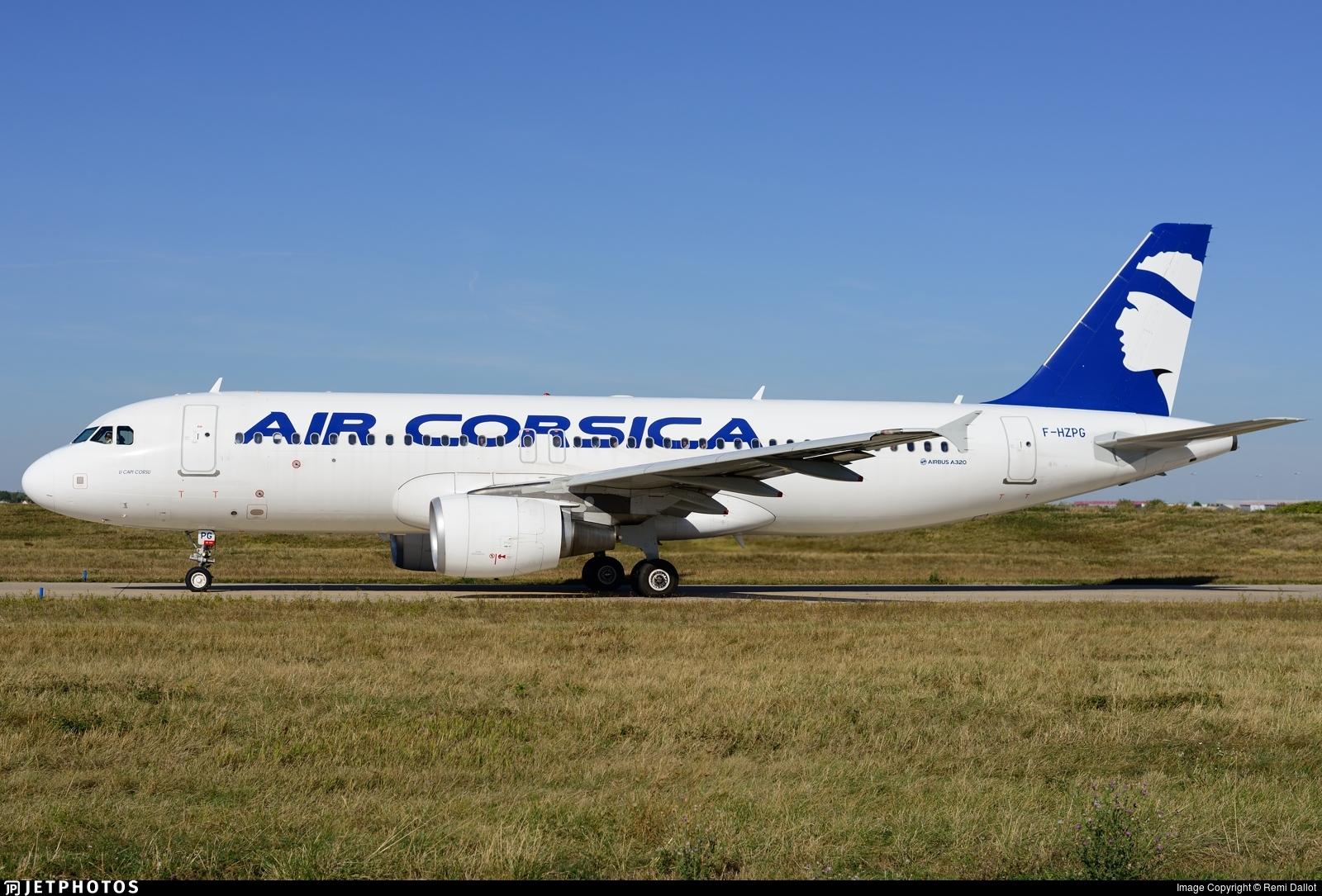 F-HZPG - Airbus A320-216 - Air Corsica