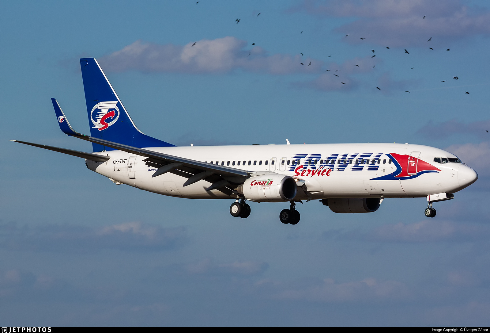 OK-TVF - Boeing 737-8FH - SmartWings