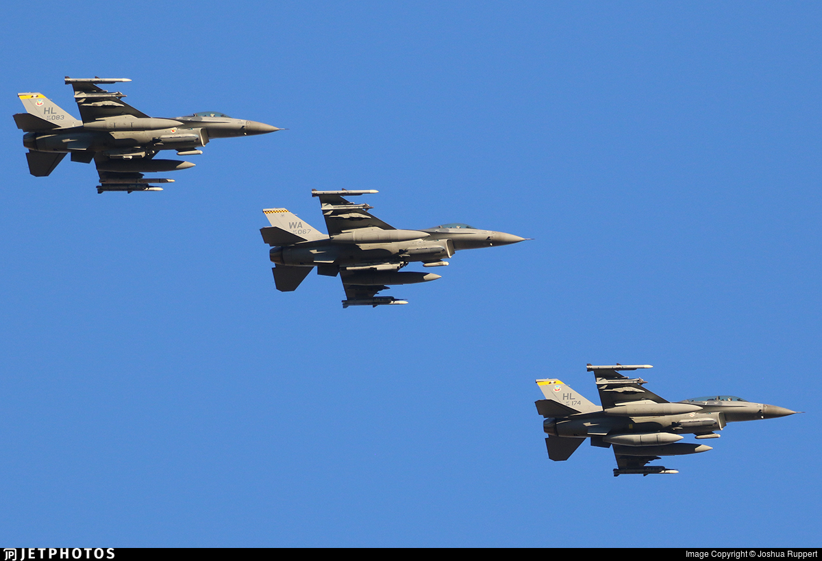88-0174 - Lockheed Martin F-16D Fighting Falcon - United States - US Air Force (USAF)
