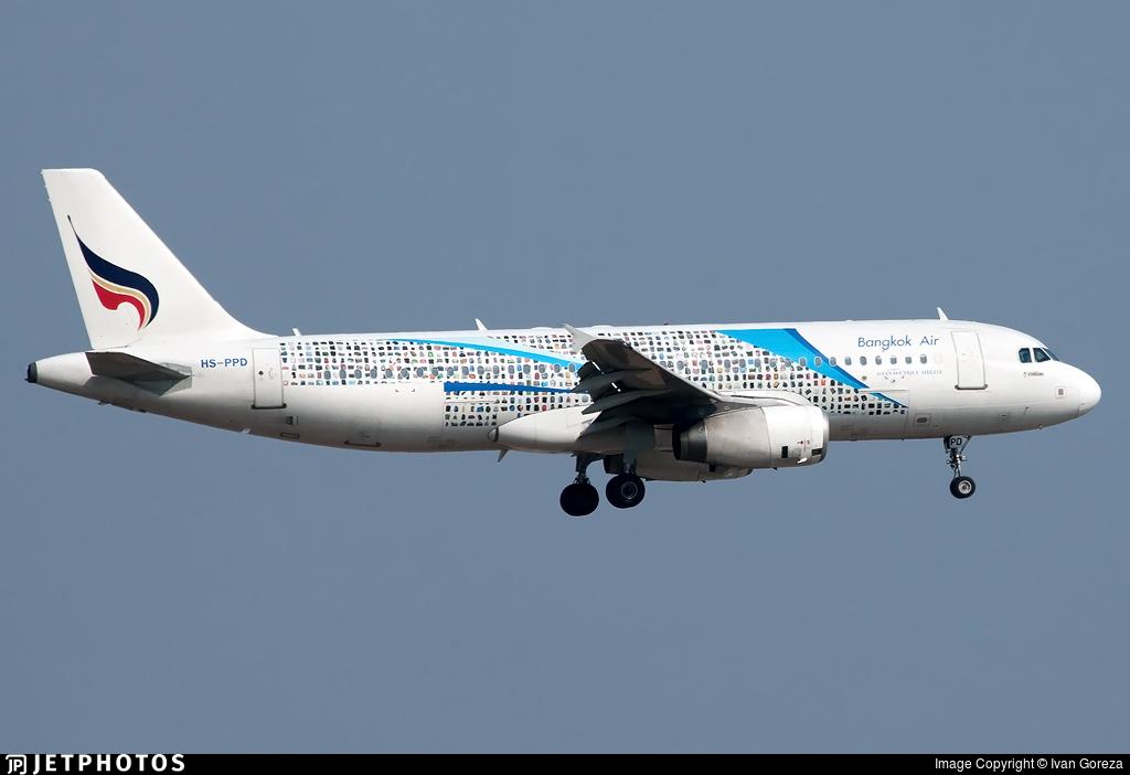 HS-PPD - Airbus A320-232 - Bangkok Airways
