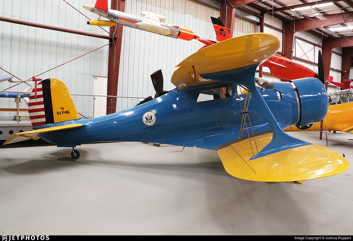 N51746 - Beechcraft D17S Staggerwing - Private