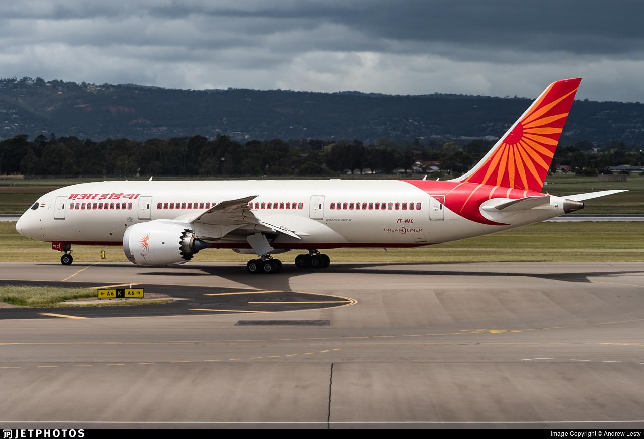 VT-NAC - Boeing 787-8 Dreamliner - Air India