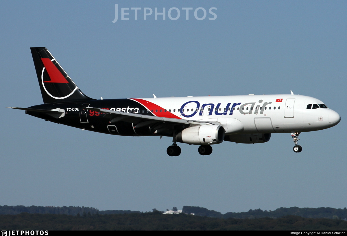 TC-ODE - Airbus A320-232 - Onur Air