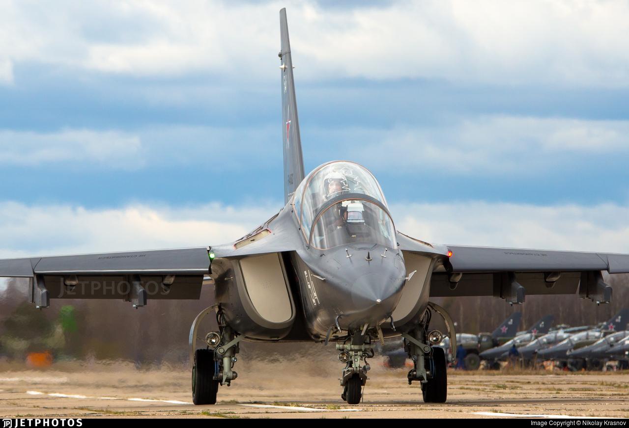 RF-44502 - Yakovlev Yak-130 - Russia - Air Force