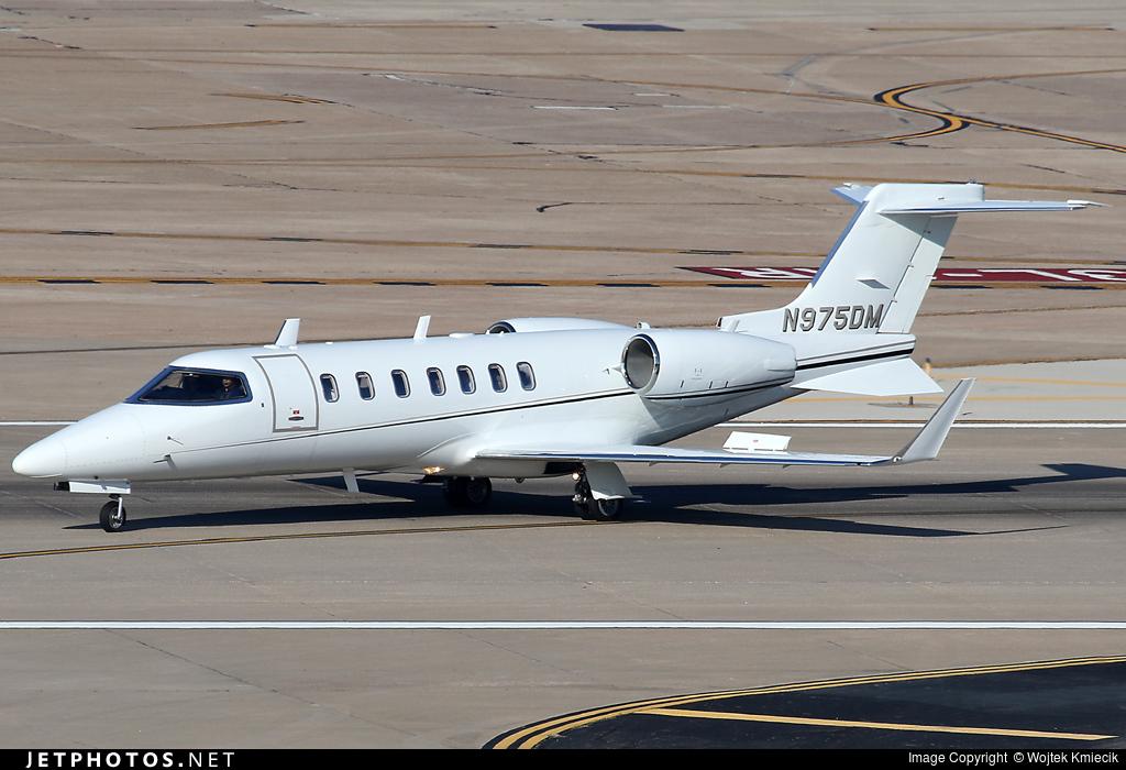 N975DM - Bombardier Learjet 45 - Private