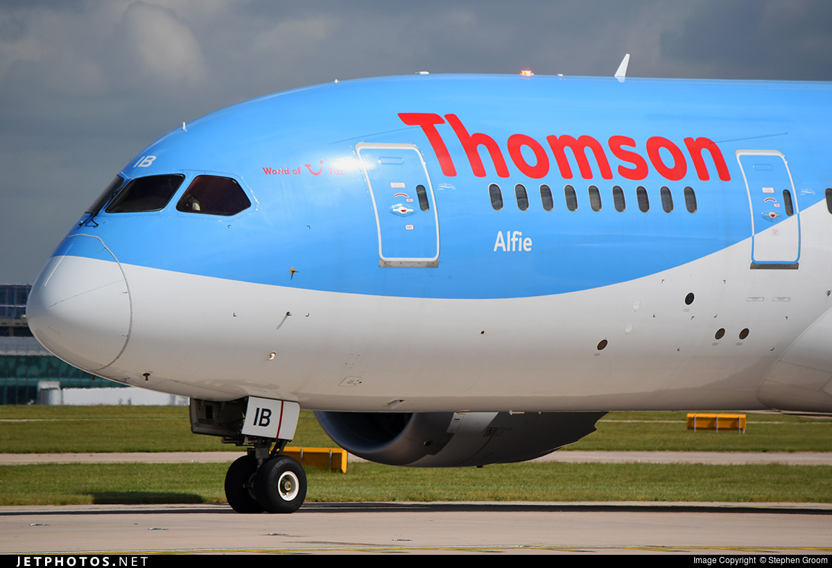 G-TUIB | Boeing 787-8 Dreamliner | Thomson Airways | Stephen Groom ...