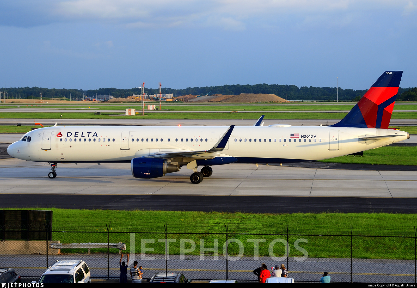 N301DV - Airbus A321-211 - Delta Air Lines