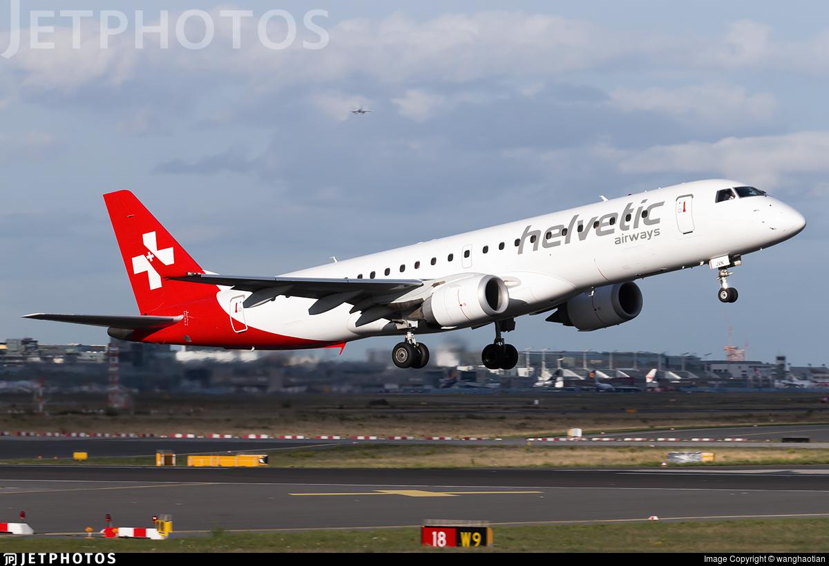 HB-JVN - Embraer 190-100LR - Helvetic Airways