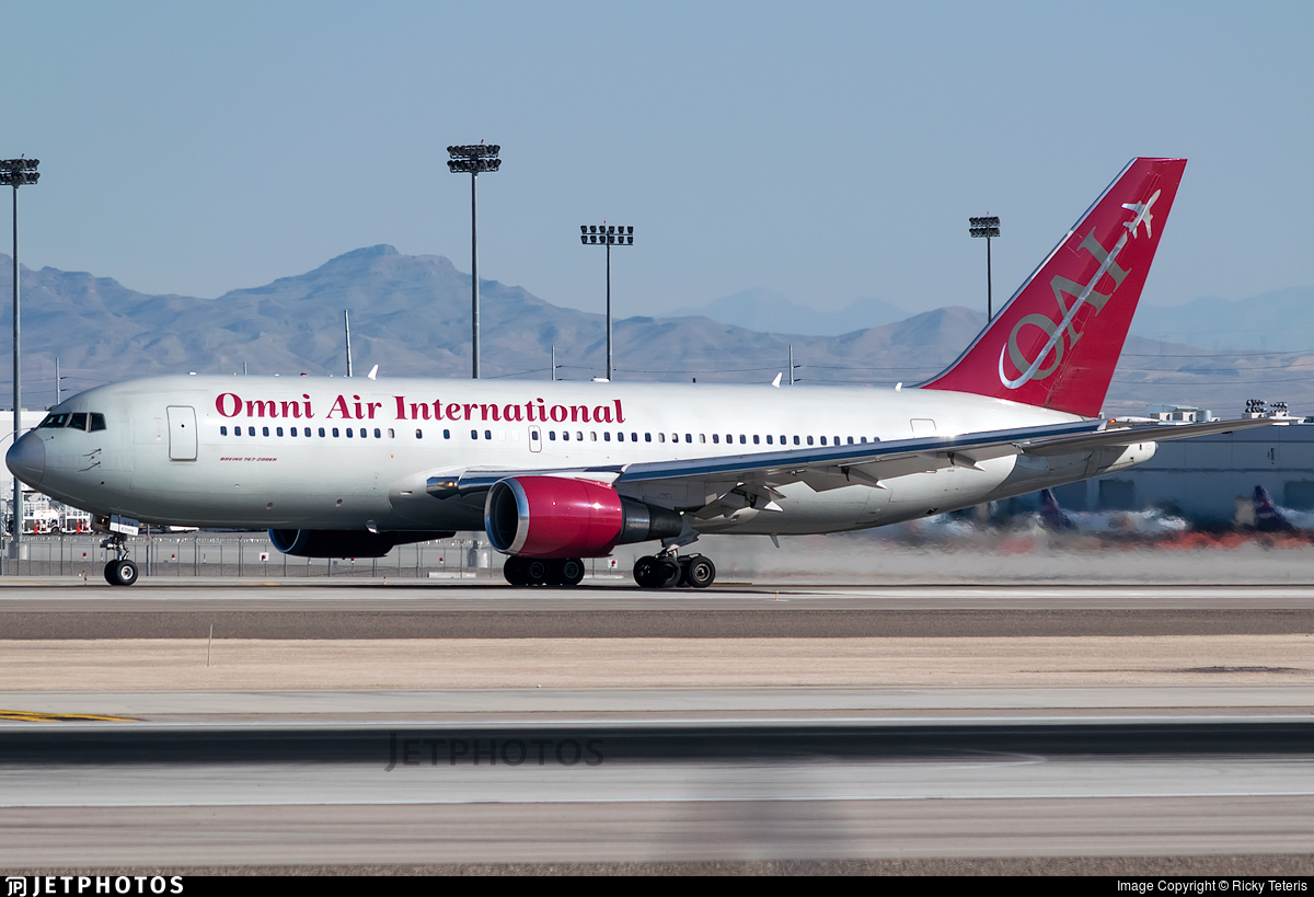 N234AX - Boeing 767-224(ER) - Omni Air International (OAI)