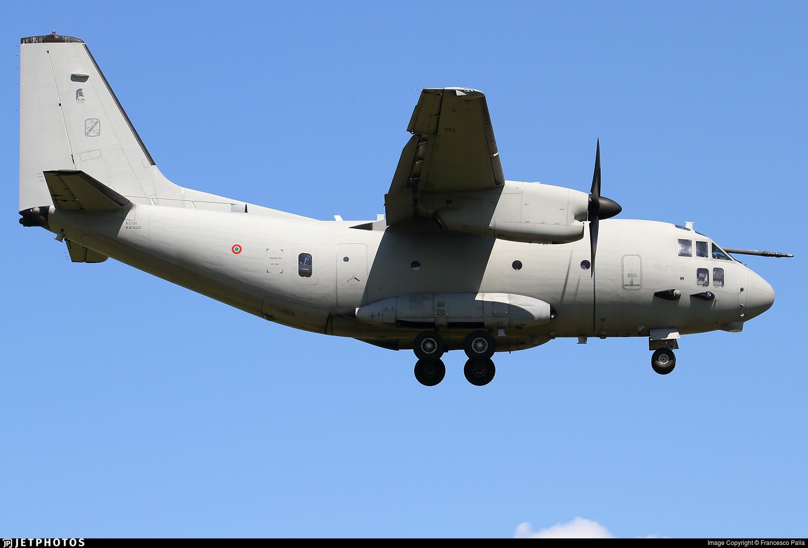 MM62220 - Alenia MC-27J Praetorian - Italy - Air Force