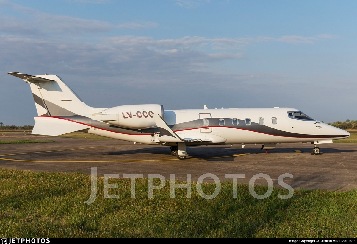 LV-CCO - Bombardier Learjet 60 - Baires Fly