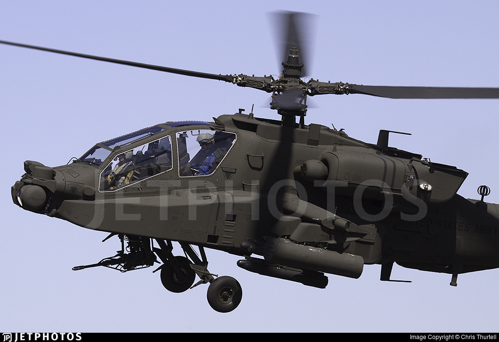 16-03112 - Boeing AH-64E Apache Guardian - United States - US Army
