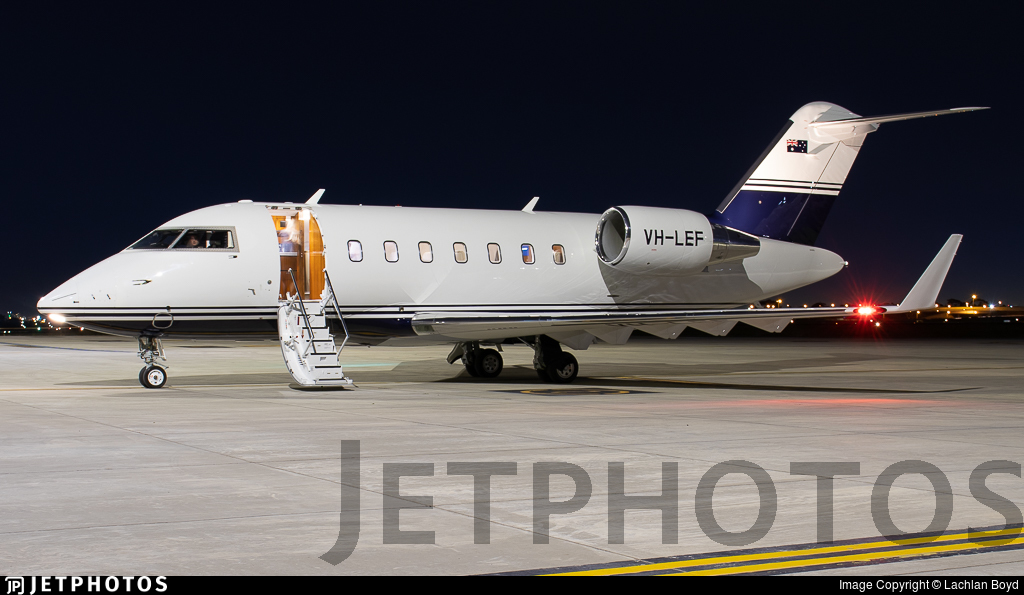 VH-LEF - Bombardier CL-600-2B16 Challenger 650 - Private