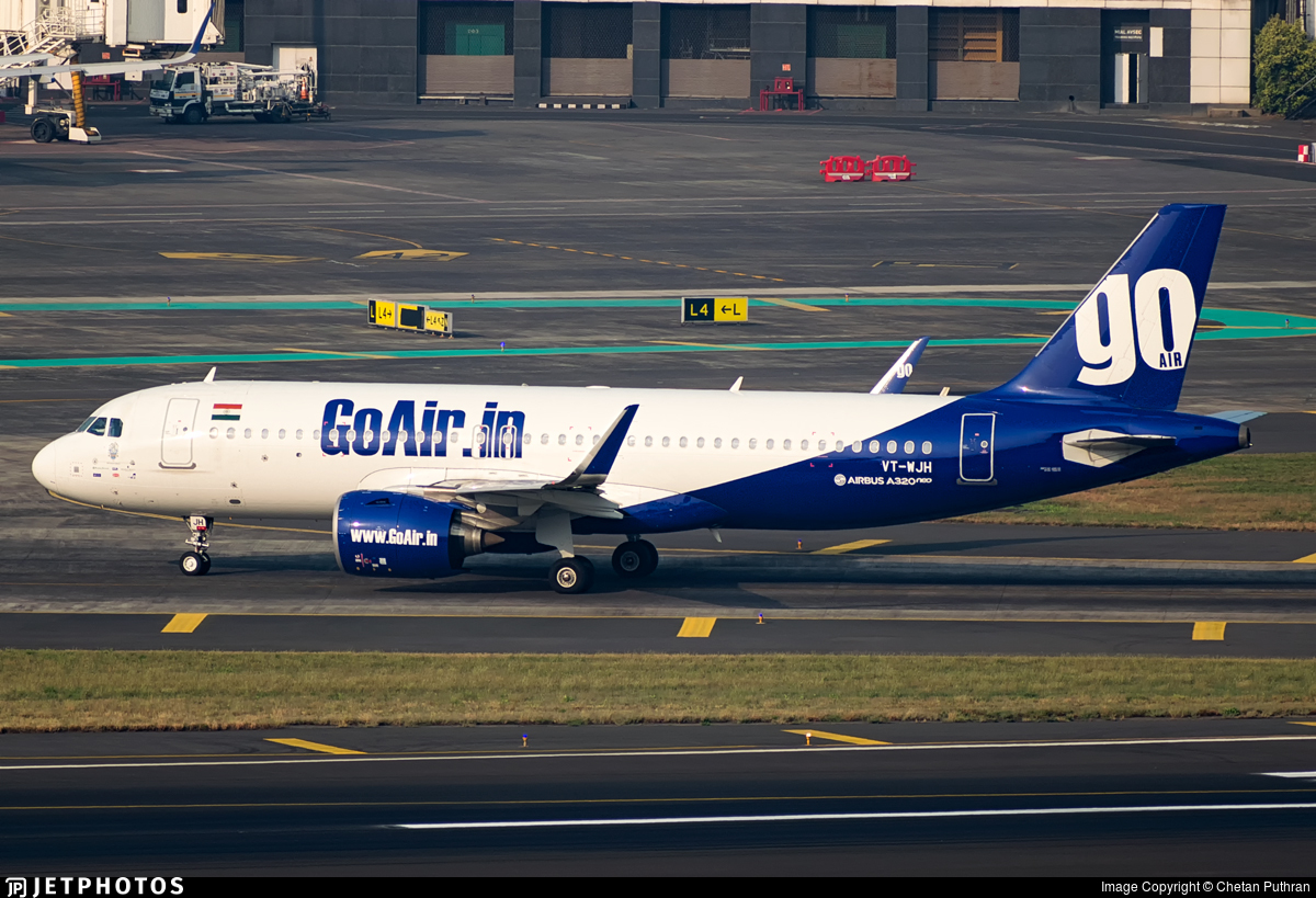 VT-WJH - Airbus A320-271N - Go Air