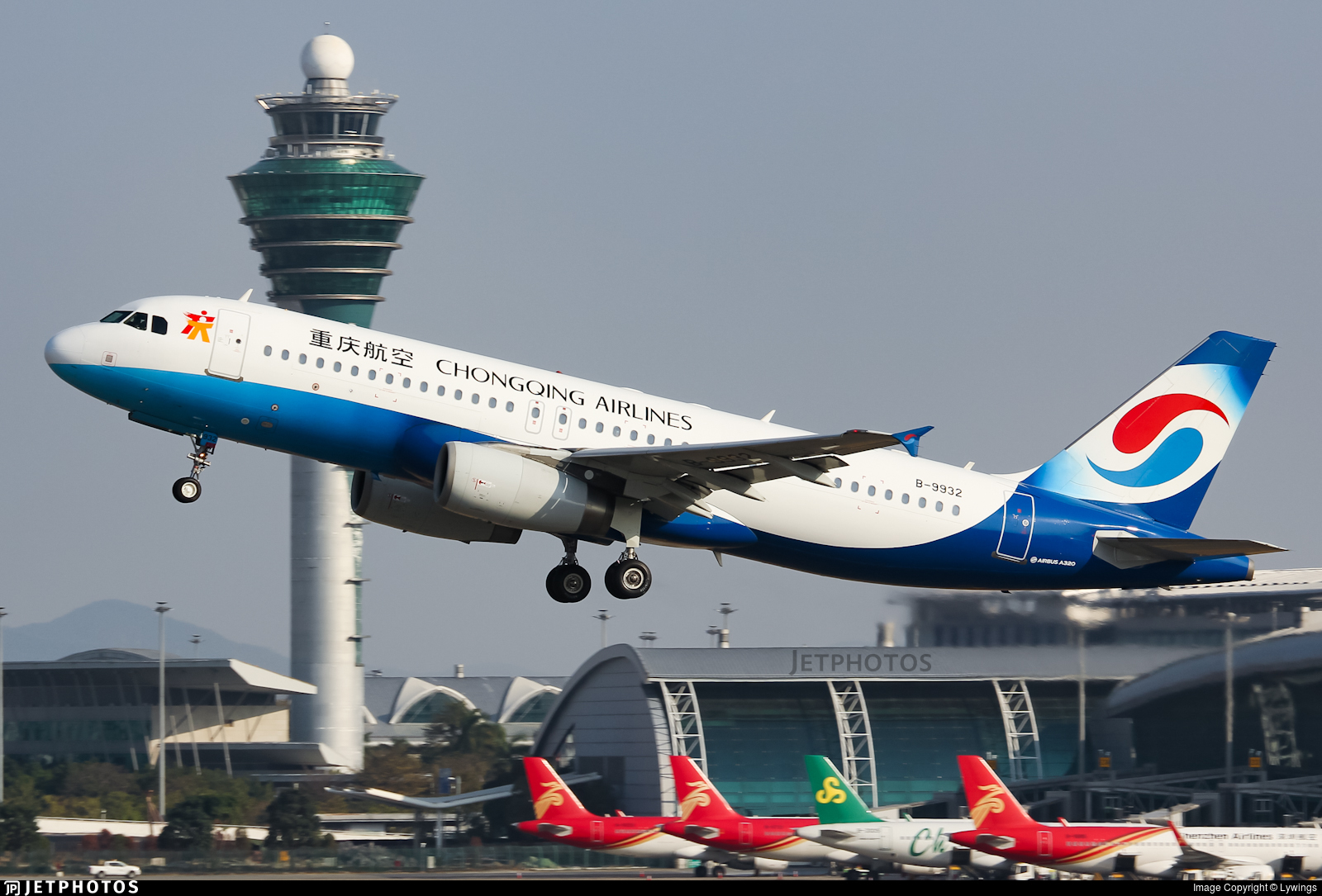 B-9932 - Airbus A320-232 - Chongqing Airlines