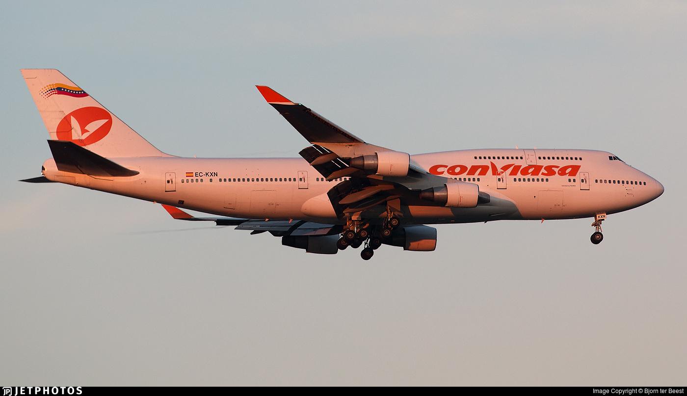 EC-KXN - Boeing 747-4H6 - Conviasa (Wamos Air)