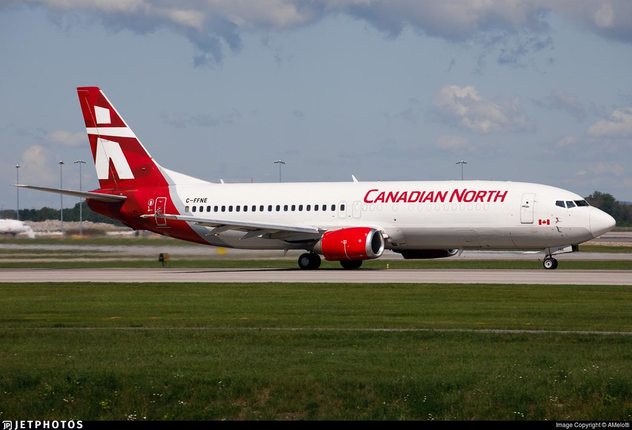 C-FFNE - Boeing 737-406(C) - Canadian North