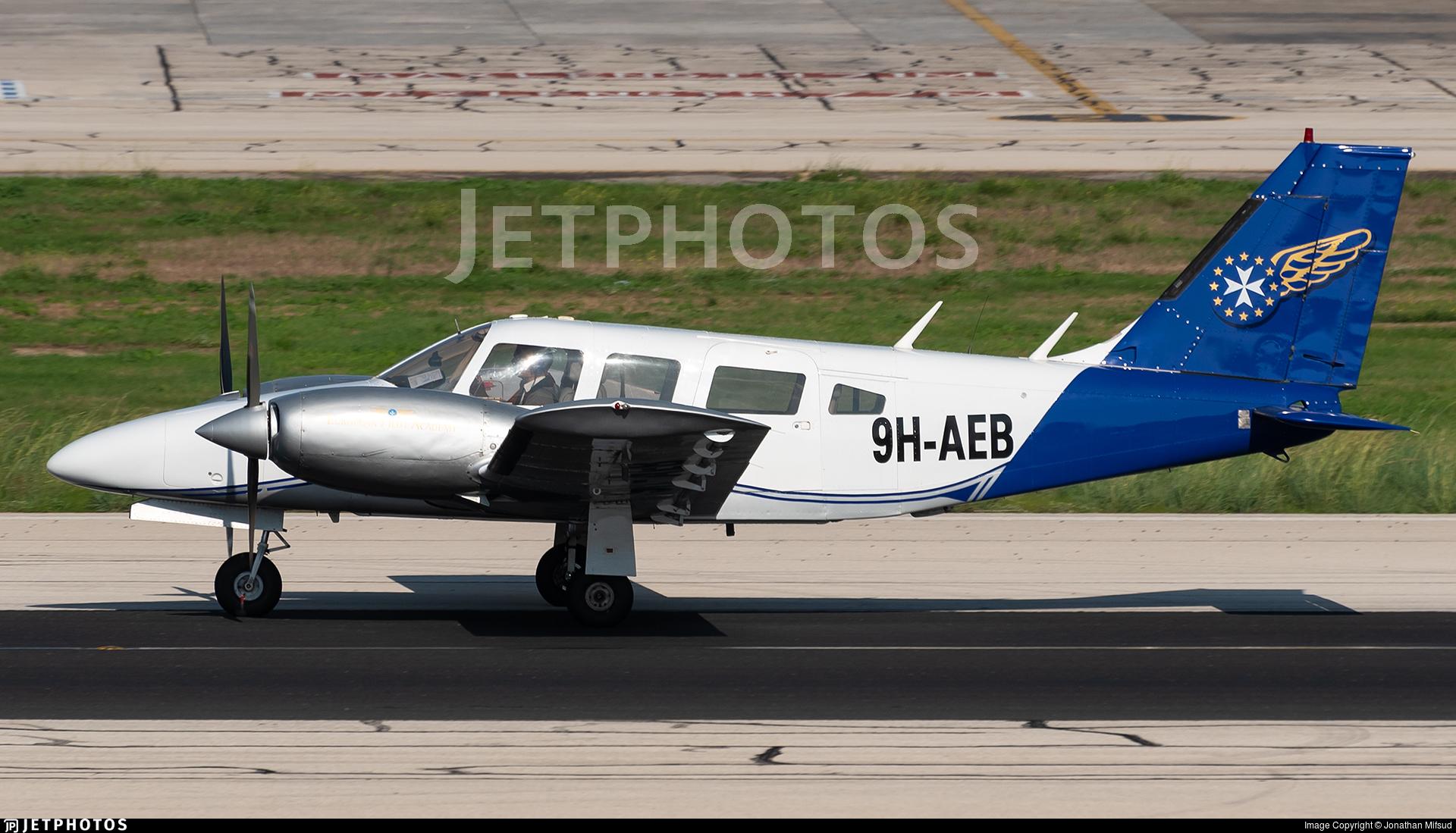 9H-AEB - Piper PA-34-200T Seneca II - European Pilot Academy