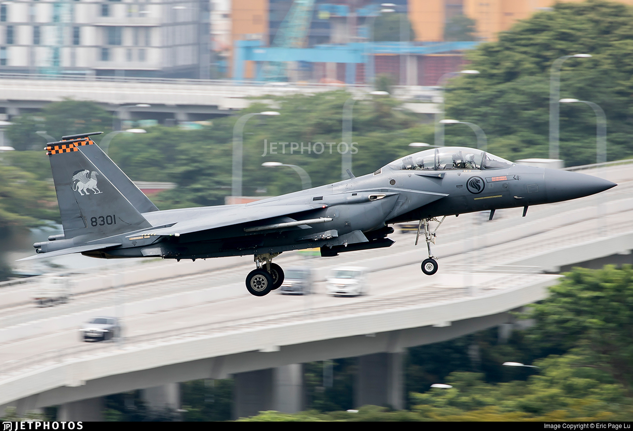 8301 - Boeing F-15SG Strike Eagle - Singapore - Air Force