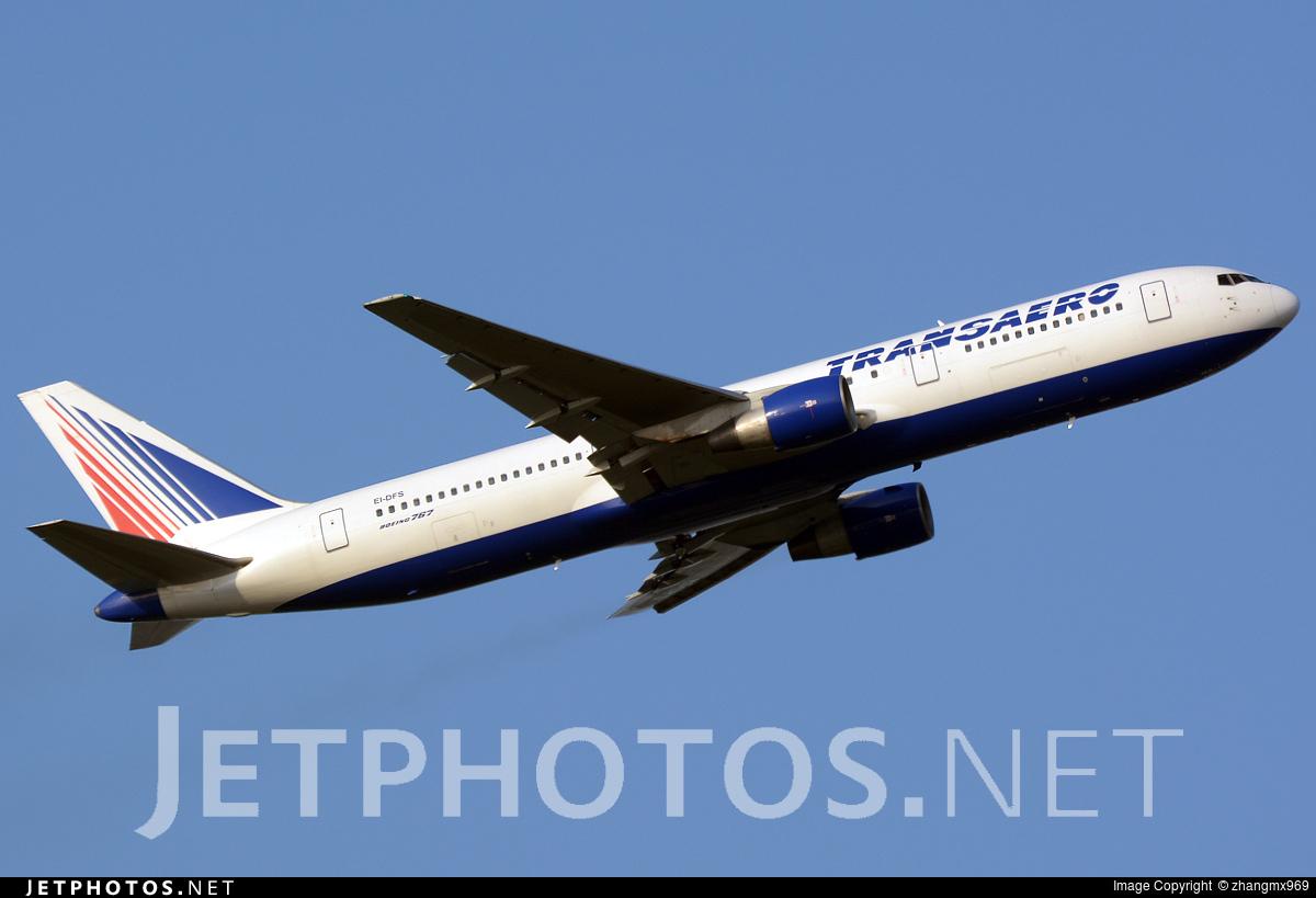 EI-DFS - Boeing 767-33A(ER) - Transaero Airlines